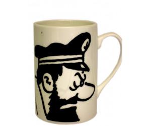 Tasse Haddock Blanche  - Tintin