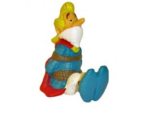 Cacofonix Tied Up - Asterix Figurine