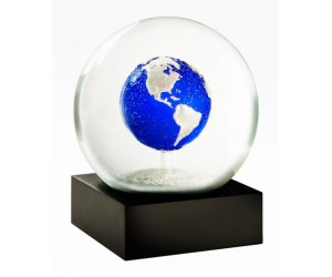 Big Blue Marble Snow Globe CoolSnowGlobes