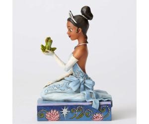Tiana avec Grenouille Jim Shore Disney Tradition
