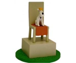 Milou sur le Trône - Tintin