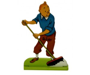 Broom - Tintin Metal Figurine