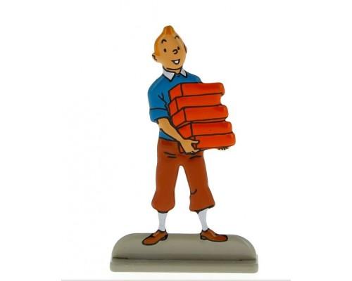 Tintin Briques - Figurine en Métal