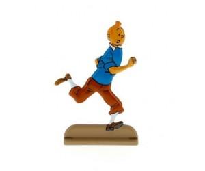 Les Bijoux de la Castafiore Figurine de Tintin en Métal
