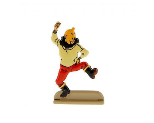 Tintin Danse - Figurine de Métal