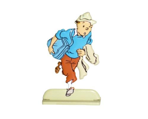 Coke en Stock  Figurine de Tintin en Métal