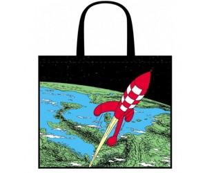 Sac Réutilisable Tintin Fusée