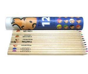 Crayons de Couleur - Boîte Bleue - Tintin