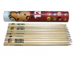 Coloring Pencils - Red Box - Tintin