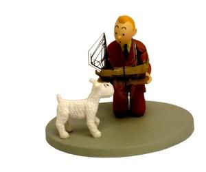 Tintin Tenant La Licorne