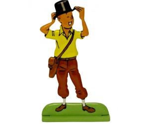 Chapeau - Figurine de Tintin en Métal