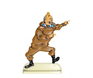 Rackham Le Rouge - Figurine de Tintin en Métal  - Tintin