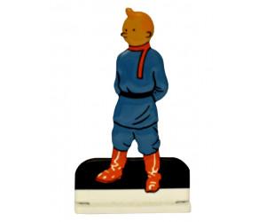 Soviet - Figurine de Tintin en Métal