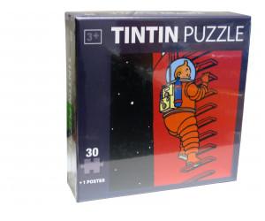 Puzzle Tintin Lune