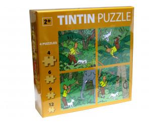 Puzzle Tintin Jungle