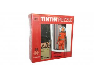 Puzzle Tintin Fusée