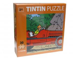 Puzzle Tintin Voiture