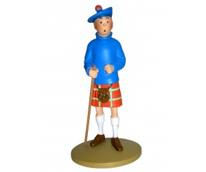 Tintin en Kilt - Figurine en Résine
