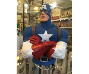 Captain American Bust Bank