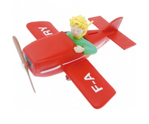 Coin Bank The Little Prince in Airplane