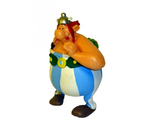 Obelix and Flowers - Asterix Figurine