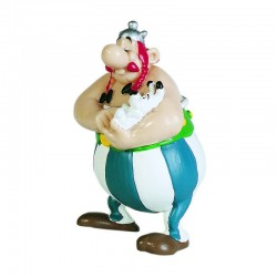 Obélix avec Idéfix - Figurine Astérix