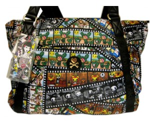 Film Strip Tokidoki Double Handle Tote
