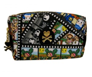Film Strip Cosmetic Bag