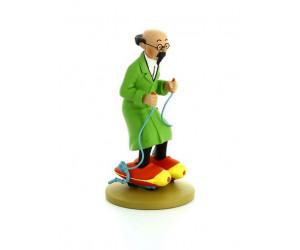 Tournesol en Patins à Moteur - Figurine de Tintin en Résine