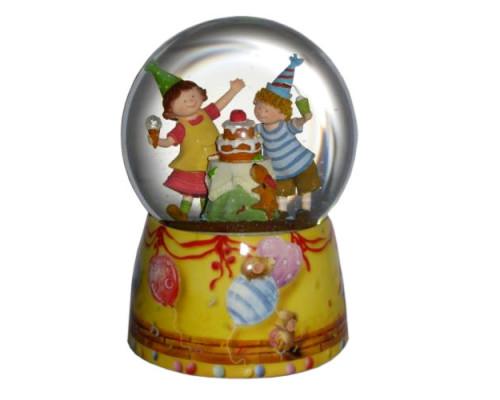 Fête d'Enfant  - Boule à Neige Musicale