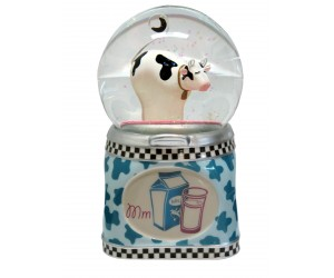 Funky Cow - Musical Snowglobe