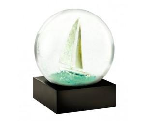 Voilier Boule à Neige CoolSnowGlobes