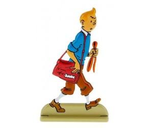 Vol 714 pour Sydney Figurine de Tintin en Métal