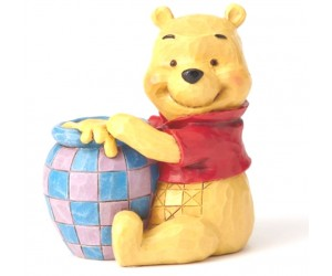 Winnie the Pooh et son Pot de Miel - Heartwood Jim Shore Disney Tradition
