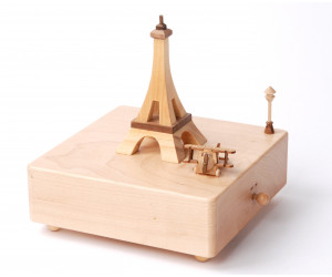 Airplane in Paris - Wooderful Life Music Box