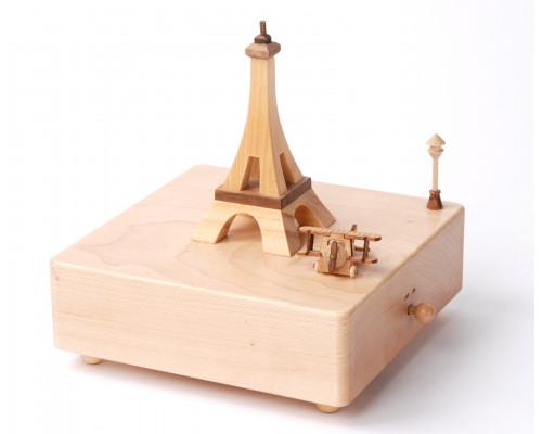 Avion dans Paris - Boîte à Musique Wooderful Life