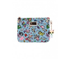Denim Daze Large Zip Pouch Tokidoki